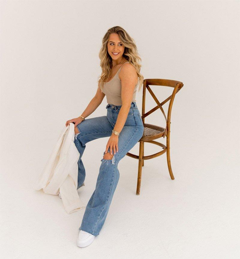Becki Rabin on Chair